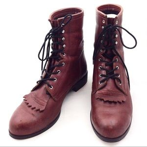 Ariat Heritage Lacer Equestrian Boots 10.5 - N512@